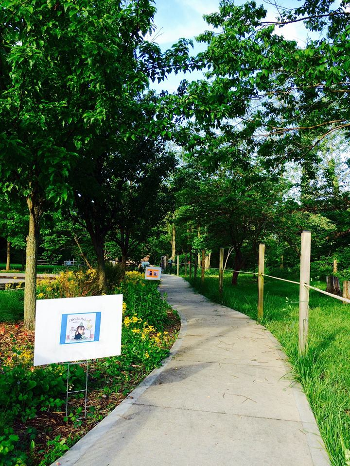 Story Book Trail at Blind Boone Park