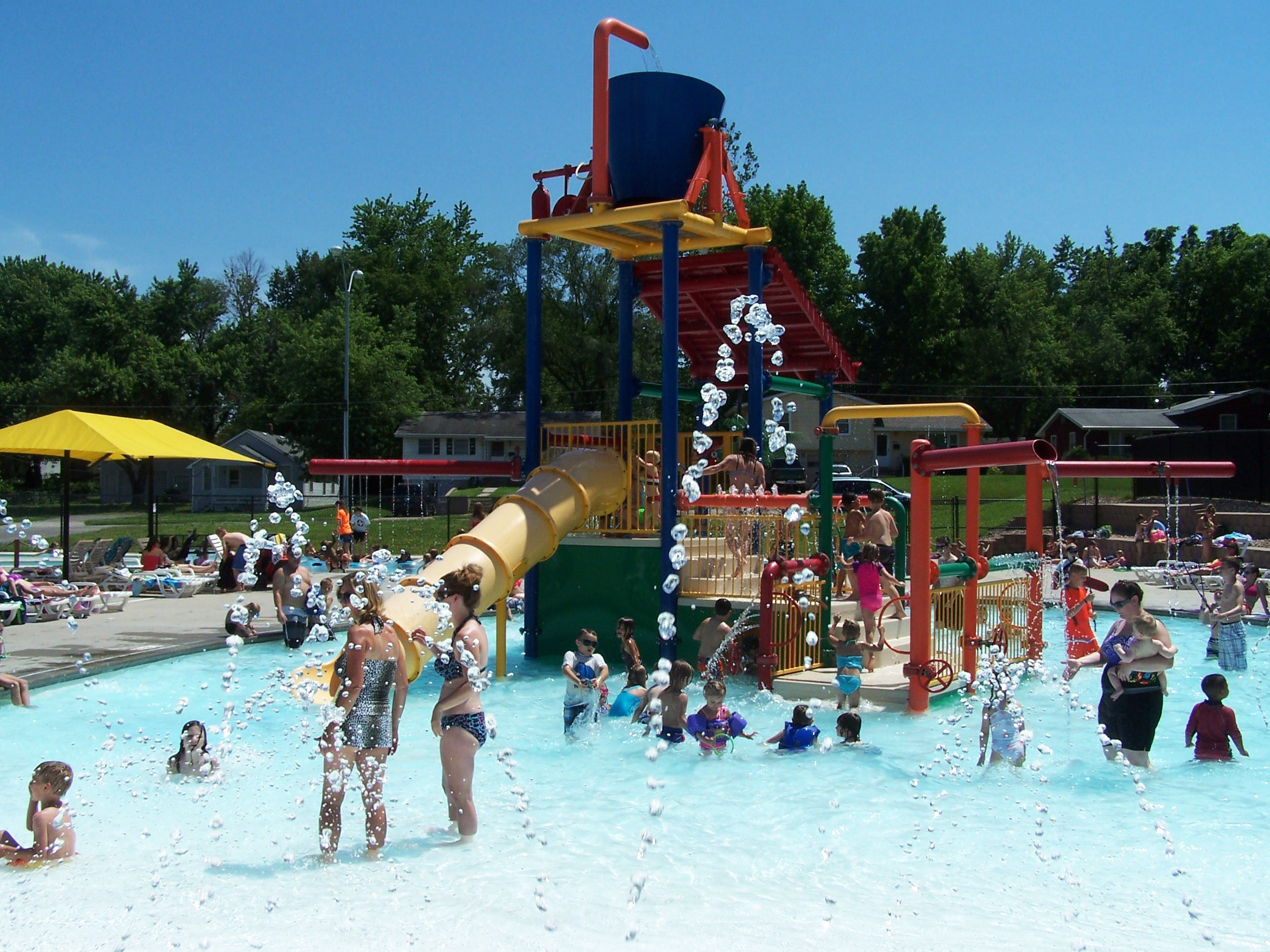 Nassif Aquatic Center Play Feature