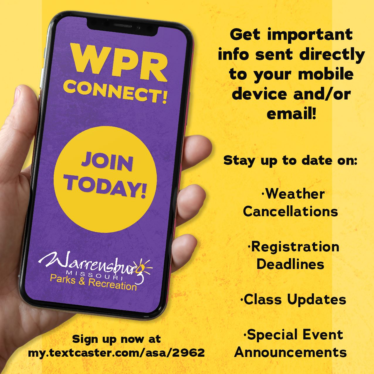 WPR Connect Ad