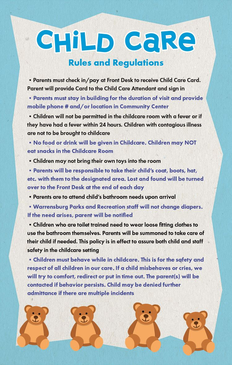 Child Care Handout Back 2021